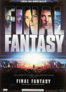 "Poster for the movie ""Final Fantasy"""