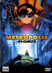 "Poster for the movie ""Metropolis"""