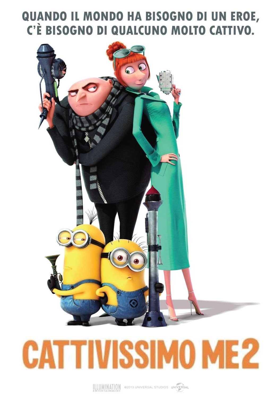 "Poster for the movie ""Cattivissimo me 2"""