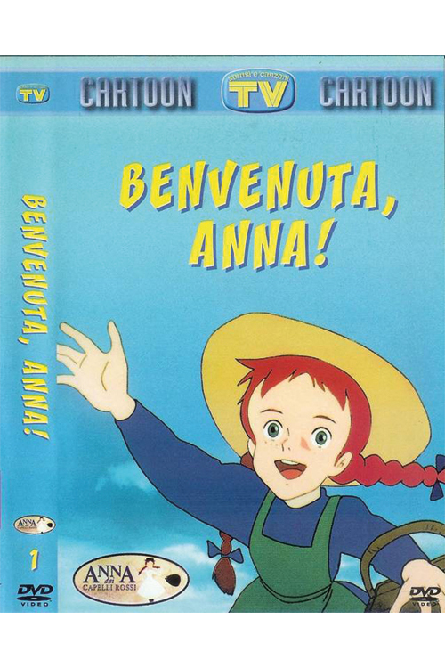 "Poster for the movie ""Anna dai Capelli Rossi - Benvenuta Anna"""