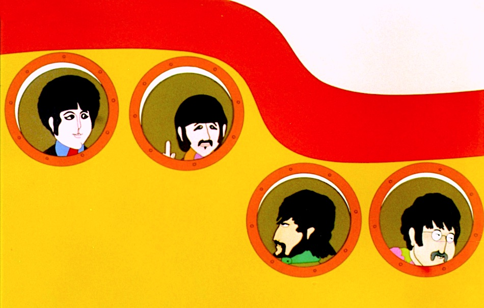 ¤ yellow submarine dei beatles diventa un fumetto