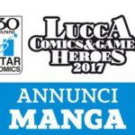 ¤ Tutti gli annunci Star Comics a Lucca Comics & Games 2017