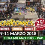¤ Presentati gli ospiti illustri del Cartoomics 2018