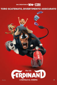 "Poster for the movie ""Ferdinand - La storia di Ferdinand"""