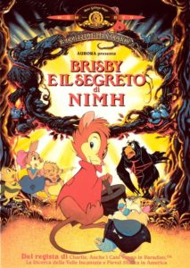 "Poster for the movie ""Brisby e il segreto di NIMH"""