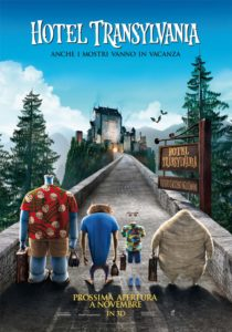 "Poster for the movie ""Hotel Transylvania"""