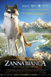 "Poster for the movie ""Zanna Bianca"""
