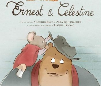 "Poster for the movie ""Ernest e Celestine"""