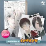 ¤ Edizioni BD, J-POP Manga e Edizioni Dentiblù ci invitano al Comicon 2019