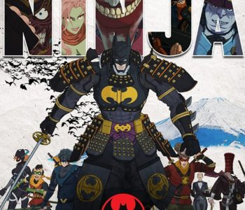 "Poster for the movie ""Batman Ninja"""